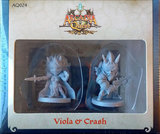 Arcadia Quest - Viola & Crash