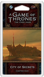 A Game of Thrones: The Card Game - City of Secrets - Chapter Pack