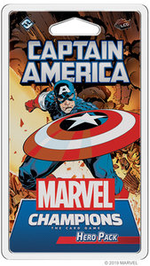 Marvel Champions: The Card Game - Captain America - Hero Pack