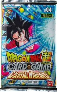 Dragon Ball Super: Colossal Warfare - Booster Pack