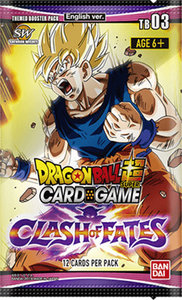 Dragon Ball Super: Clash of Fates - Themed Booster Pack
