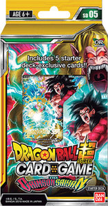 Dragon Ball Super: The Crimson Saiyan - Starter Deck