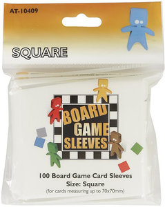 Arcane Tinmen - Square Board Game Card Sleeves (70 x 70 mm)