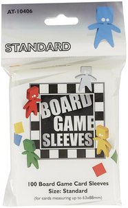Arcane Tinmen - Standard Game Card Sleeves (63 x 88 mm)