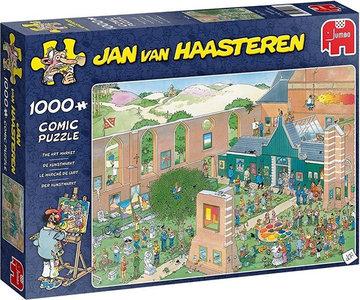 Jan van Haasteren - De Kunstmarkt (1000)