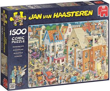 Jan van Haasteren - De Bouwplaats (1500)