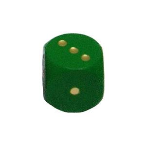 Dobbelsteen 16mm - Groen