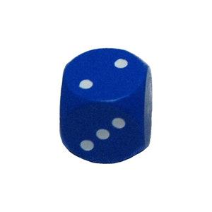 Dobbelsteen 16mm - Blauw