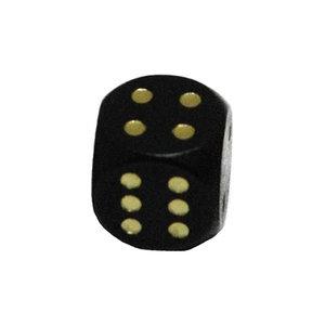 Dobbelsteen 16mm - Zwart