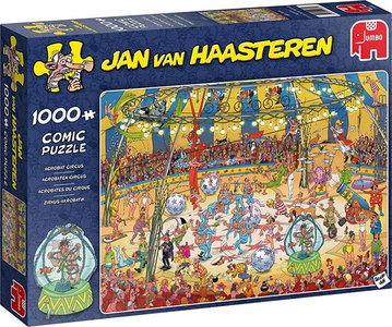 Jan van Haasteren - Acrobaten Circus (1000)