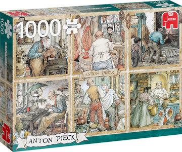 Anton Pieck - De Ambachtslieden (1000)