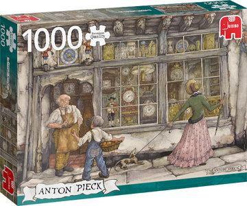 Anton Pieck - De Klokkenwinkel (1000)